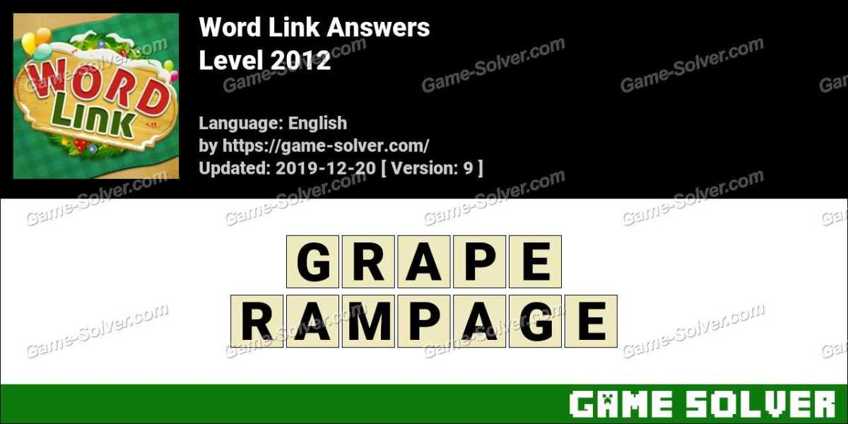 Word Link Level 2012 Answers