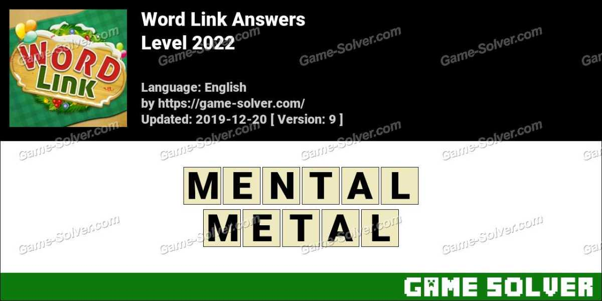 Word Link Level 2022 Answers