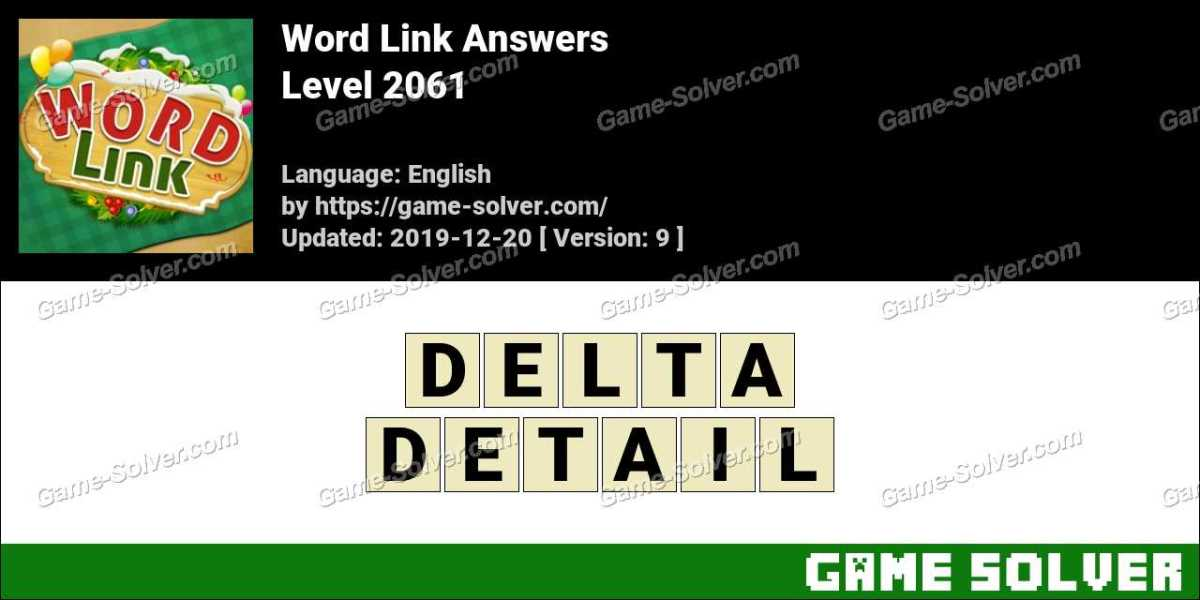 Word Link Level 2061 Answers