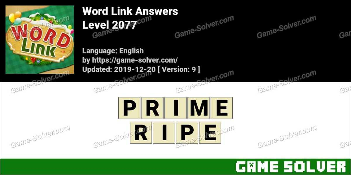 Word Link Level 2077 Answers