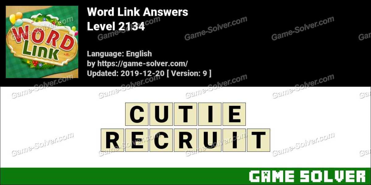 Word Link Level 2134 Answers