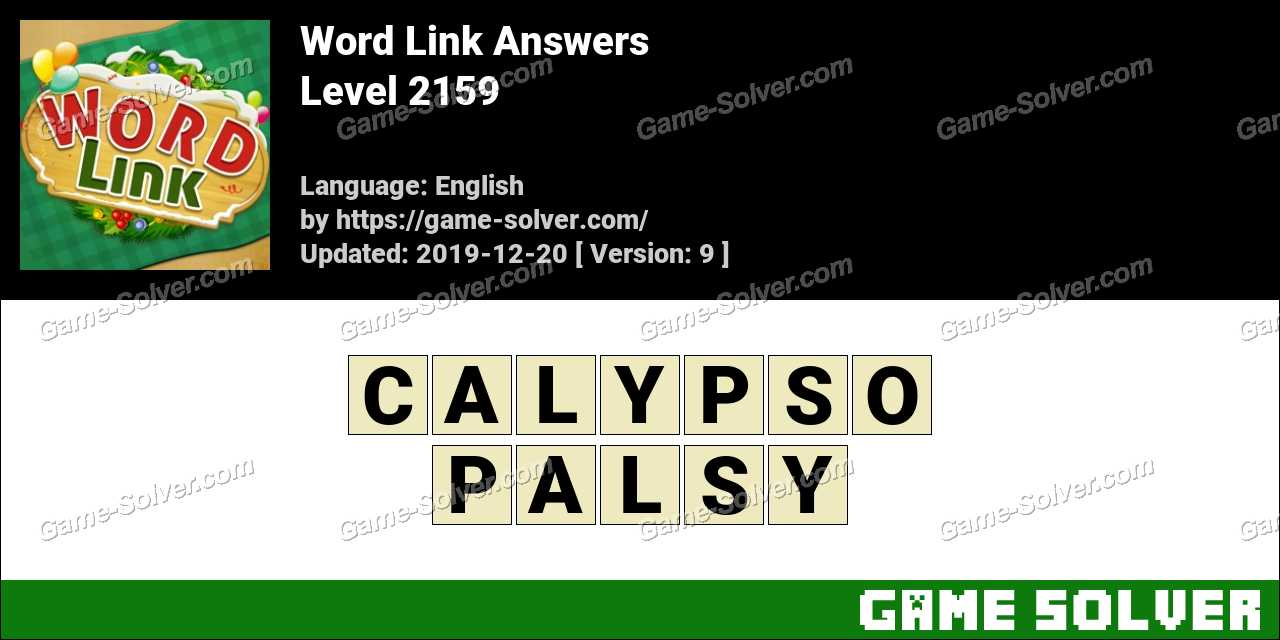 Word Link Level 2159 Answers