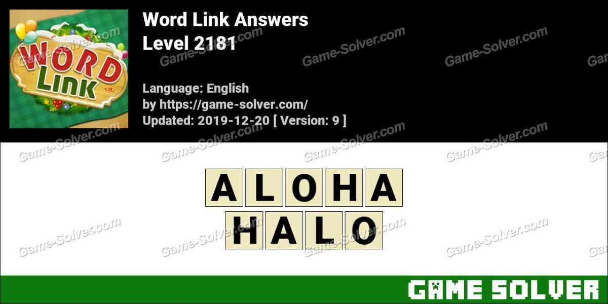Word Link Level 2181 Answers