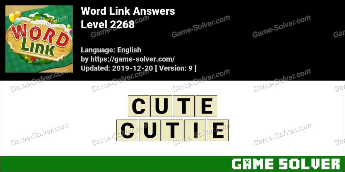 Word Link Level 2268 Answers