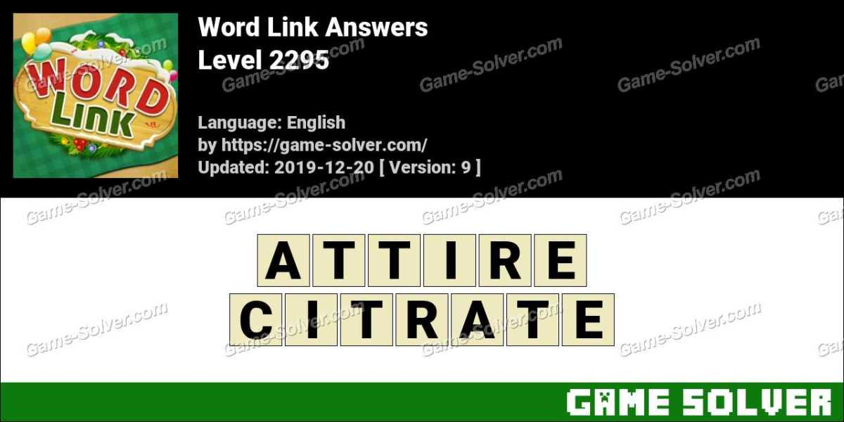 Word Link Level 2295 Answers