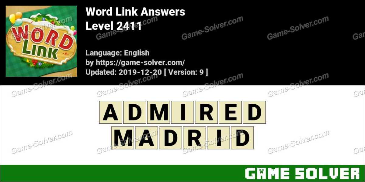 Word Link Level 2411 Answers