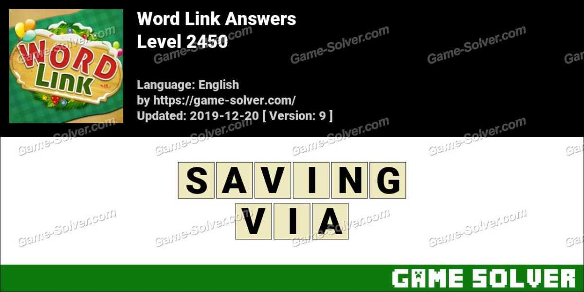 Word Link Level 2450 Answers
