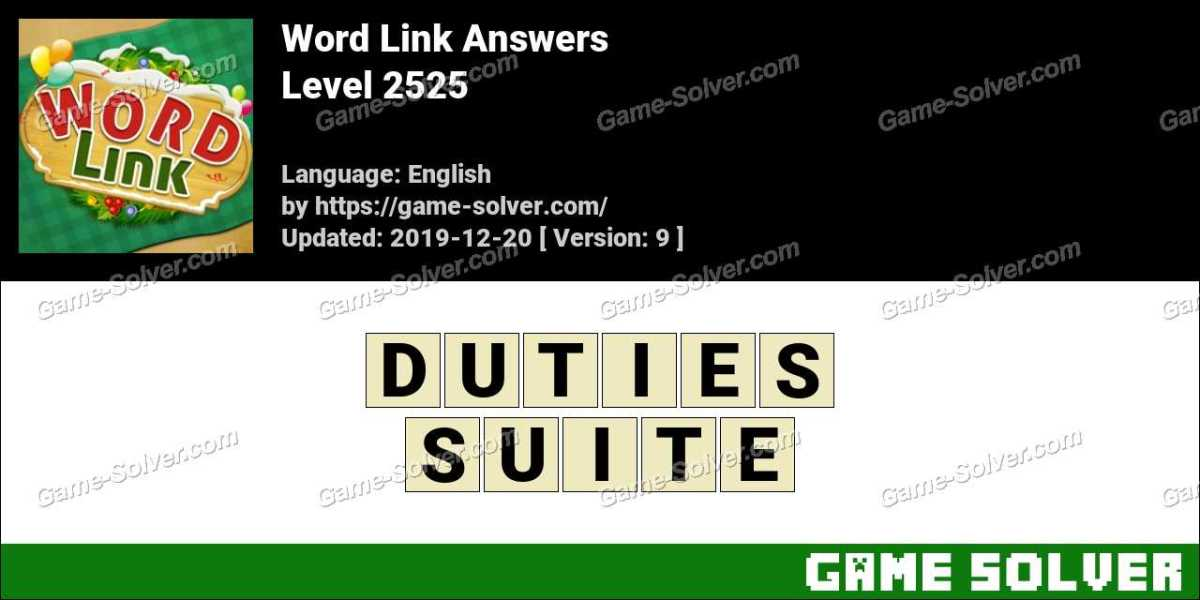 Word Link Level 2525 Answers