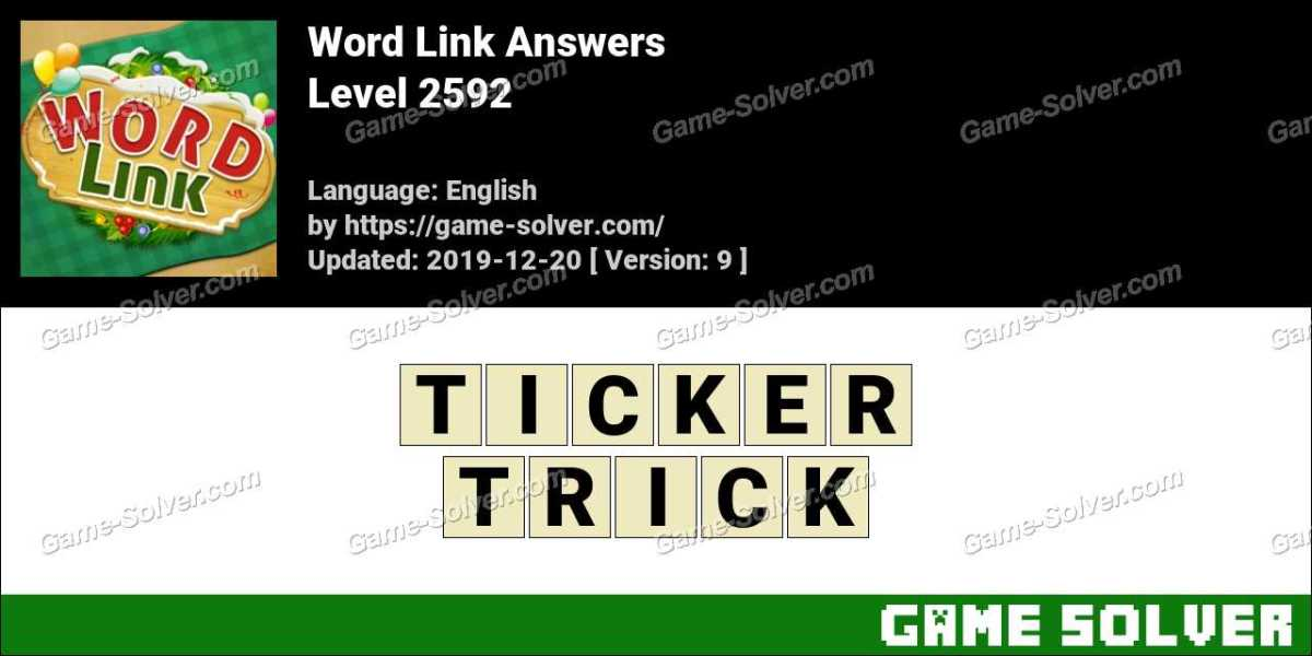Word Link Level 2592 Answers