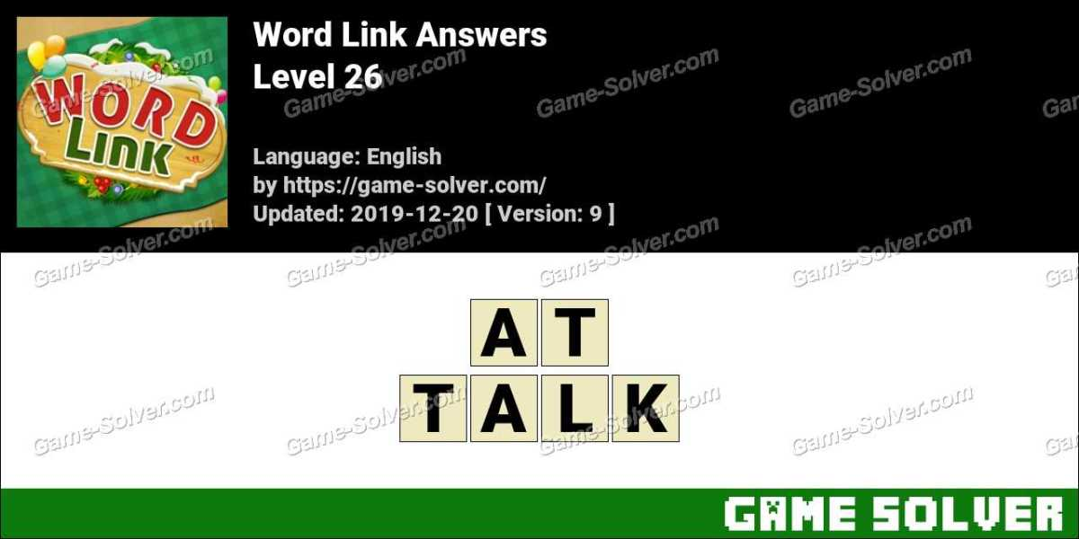 Word Link Level 26 Answers
