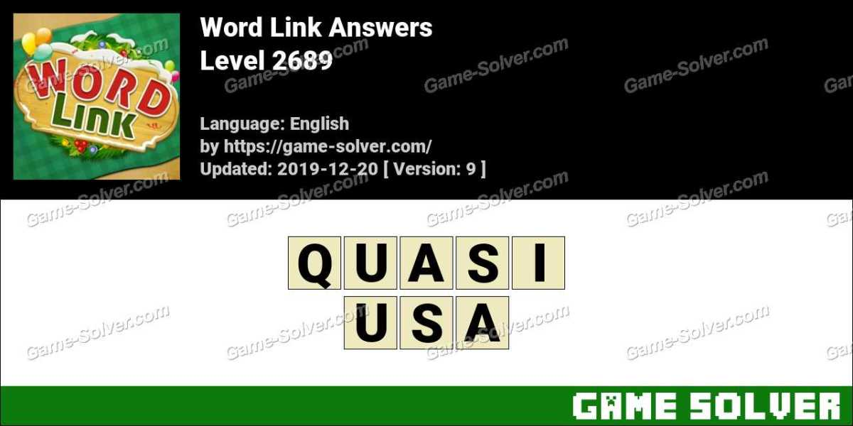 Word Link Level 2689 Answers