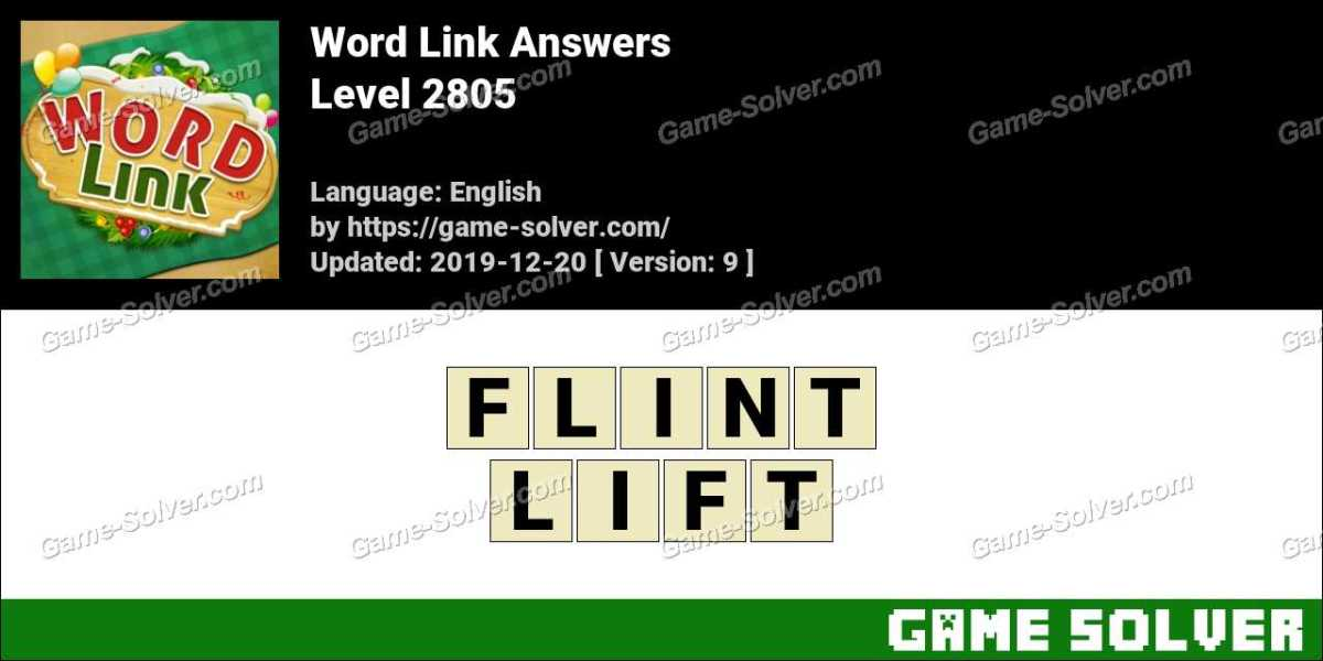 Word Link Level 2805 Answers