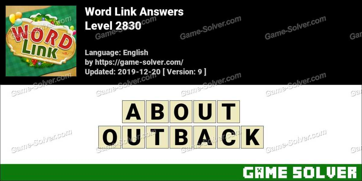 Word Link Level 2830 Answers