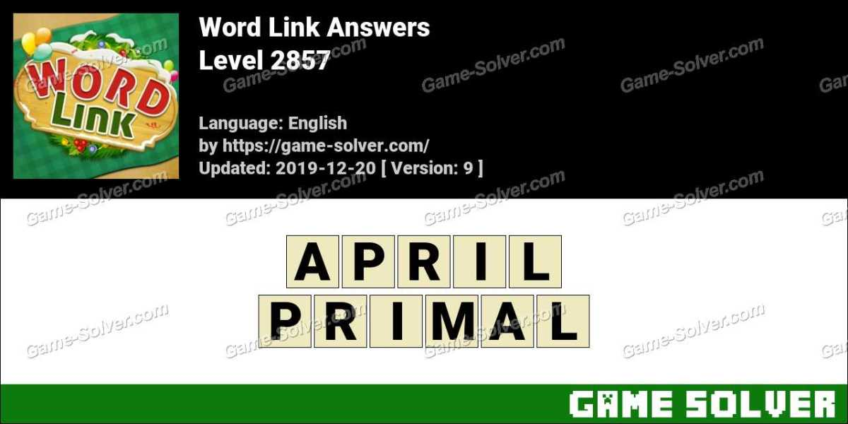 Word Link Level 2857 Answers