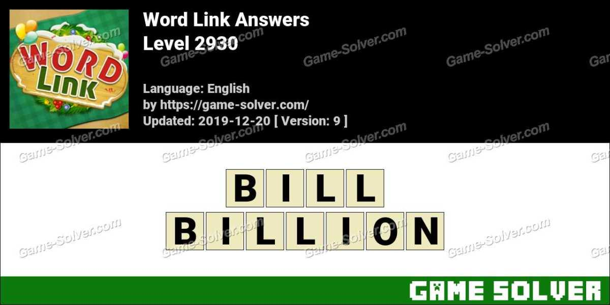 Word Link Level 2930 Answers