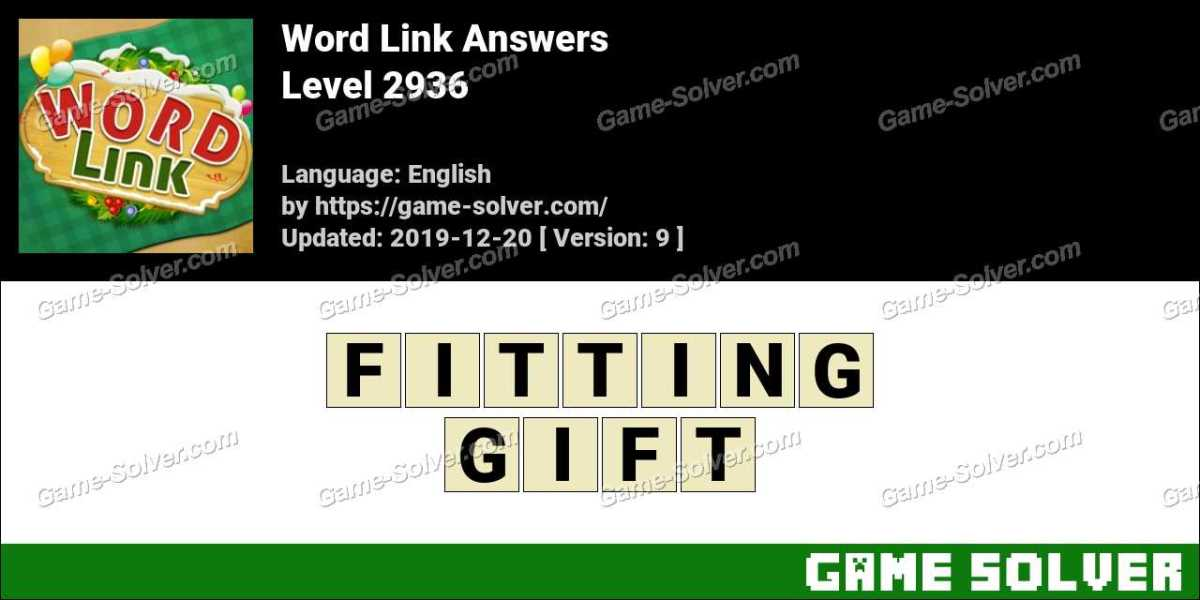Word Link Level 2936 Answers