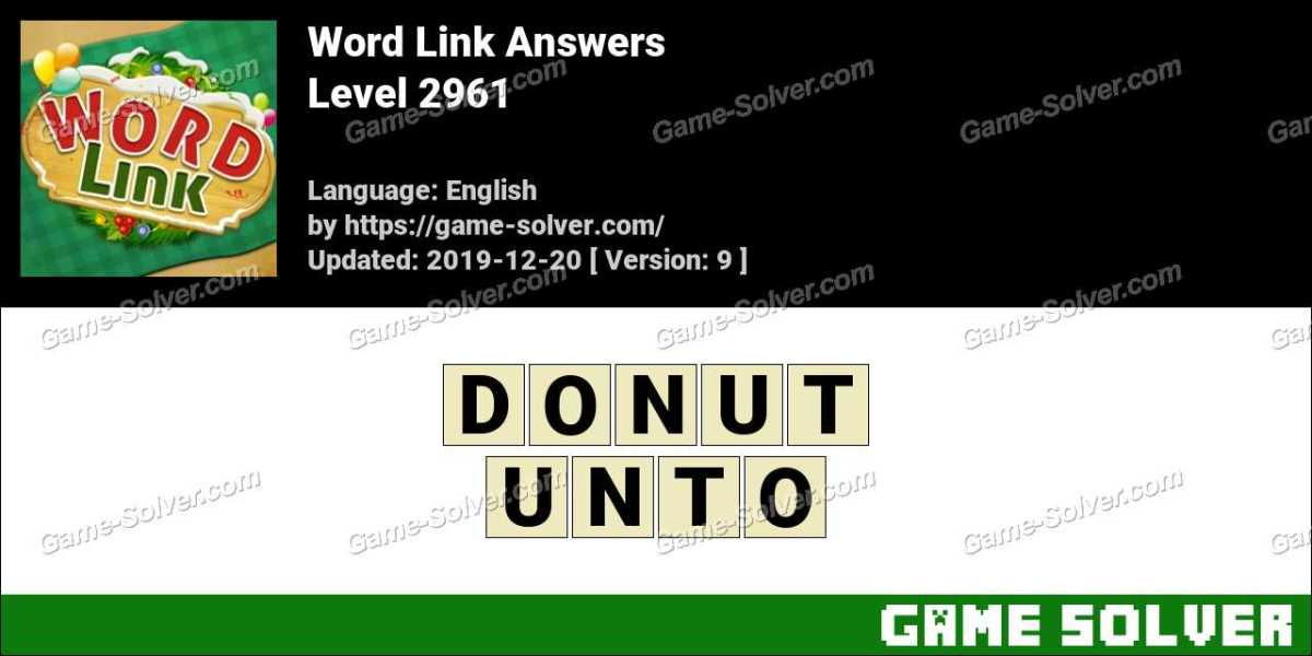 Word Link Level 2961 Answers