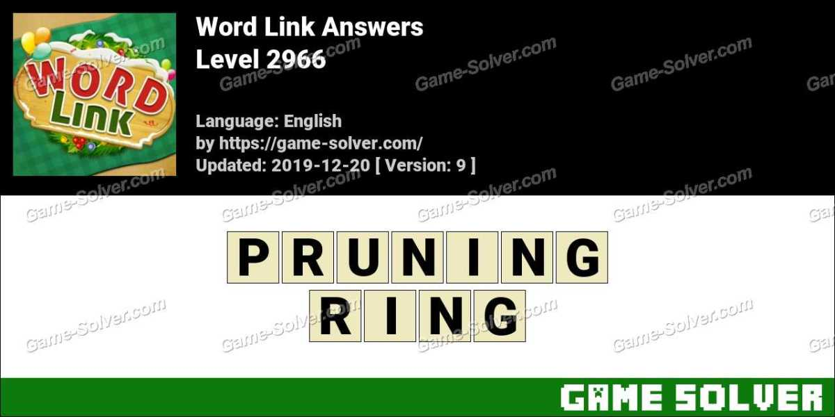 Word Link Level 2966 Answers