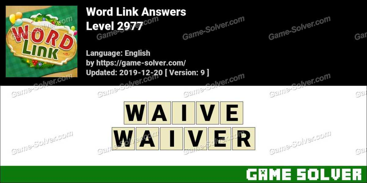 Word Link Level 2977 Answers