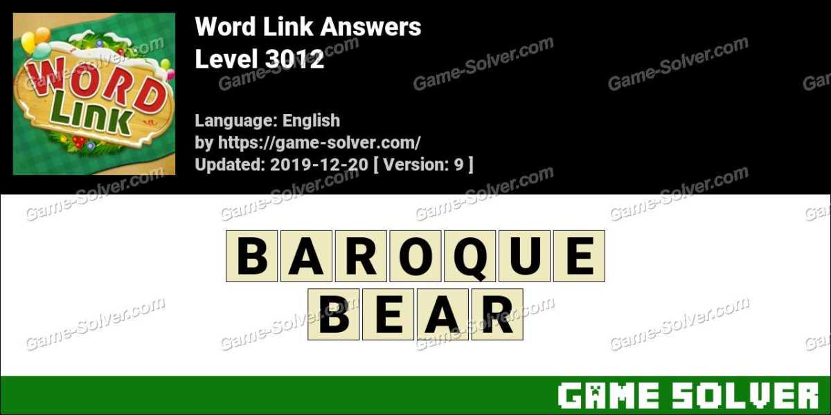 Word Link Level 3012 Answers