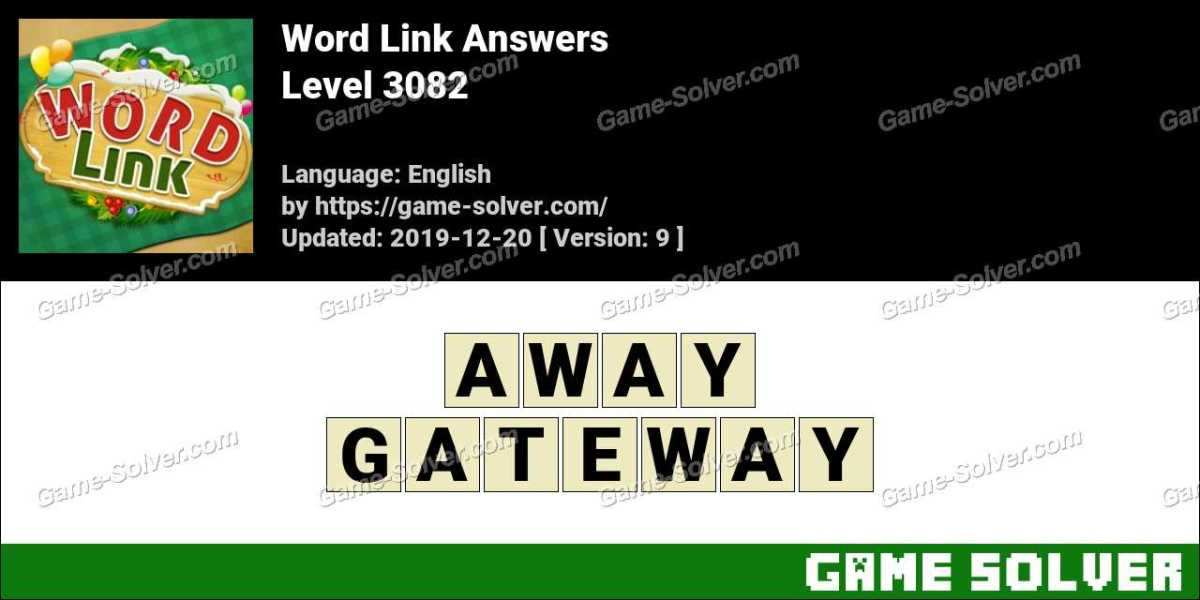 Word Link Level 3082 Answers