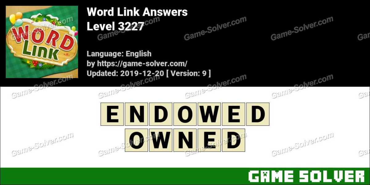 Word Link Level 3227 Answers