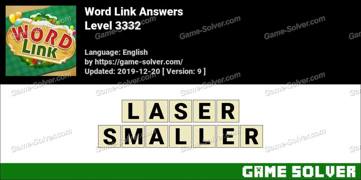Word Link Level 3332 Answers