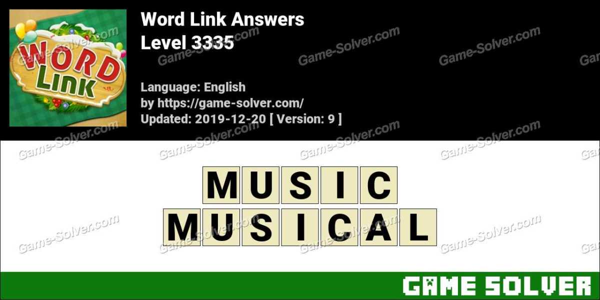 Word Link Level 3335 Answers