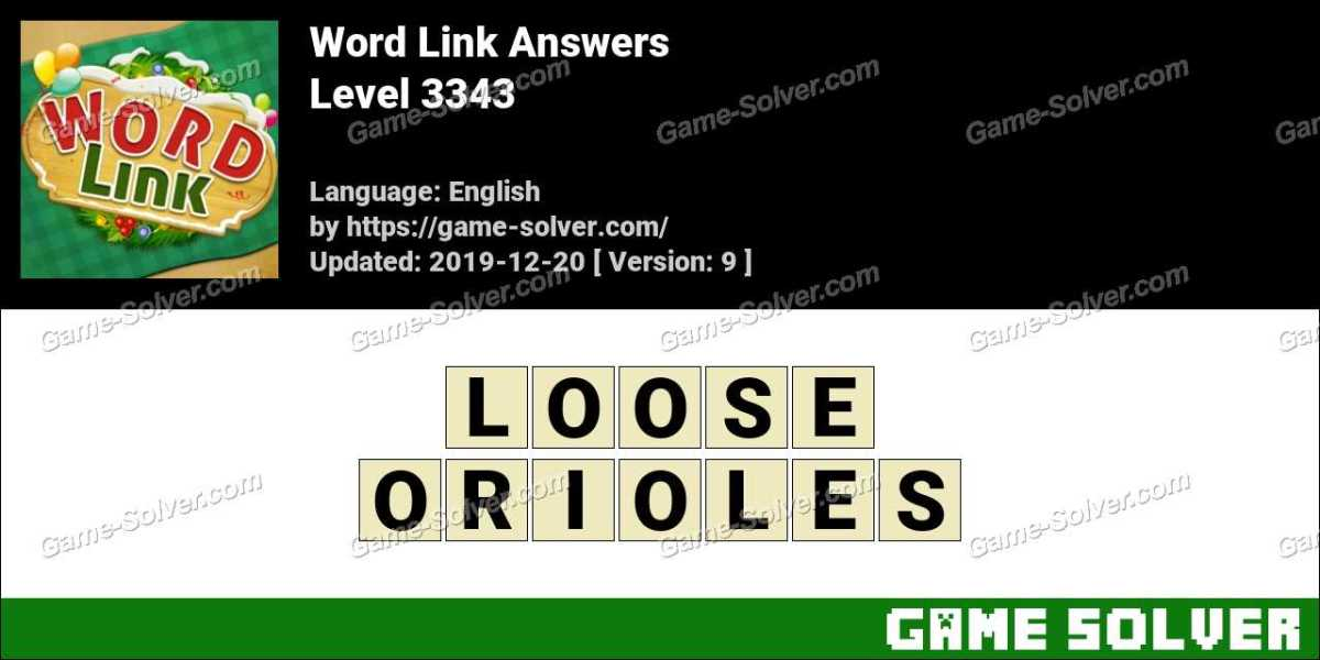 Word Link Level 3343 Answers