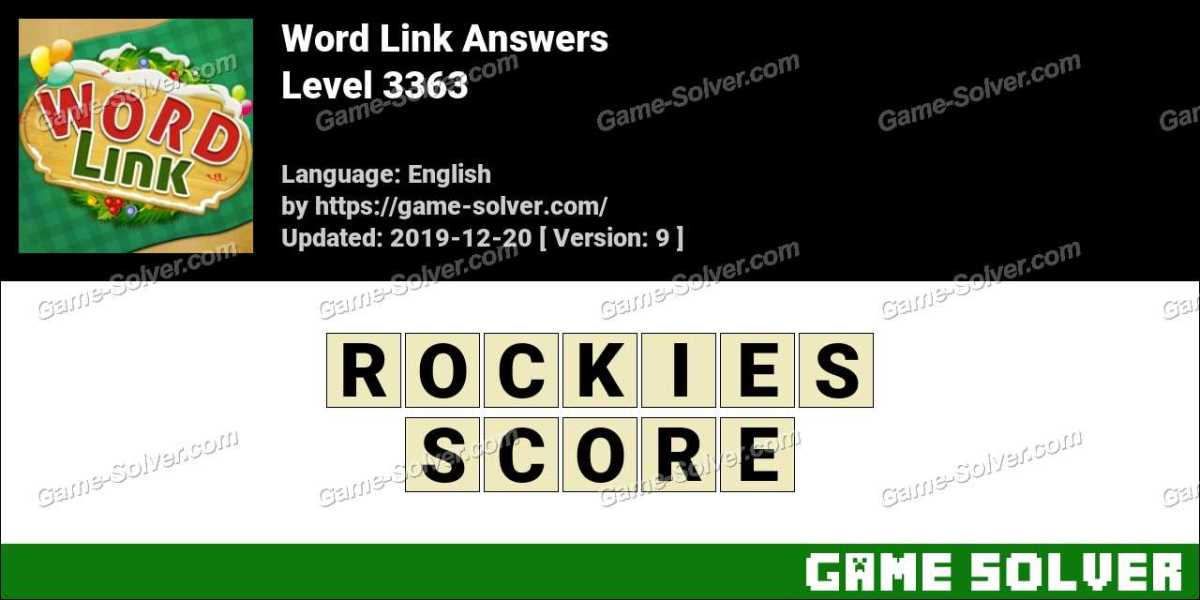 Word Link Level 3363 Answers