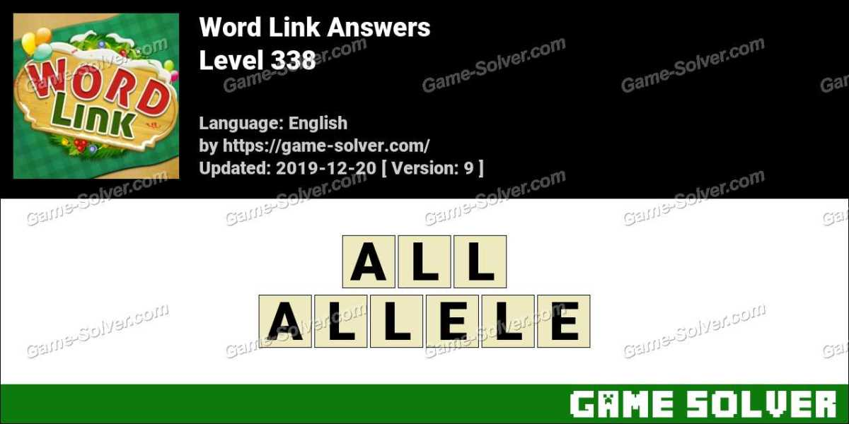 Word Link Level 338 Answers
