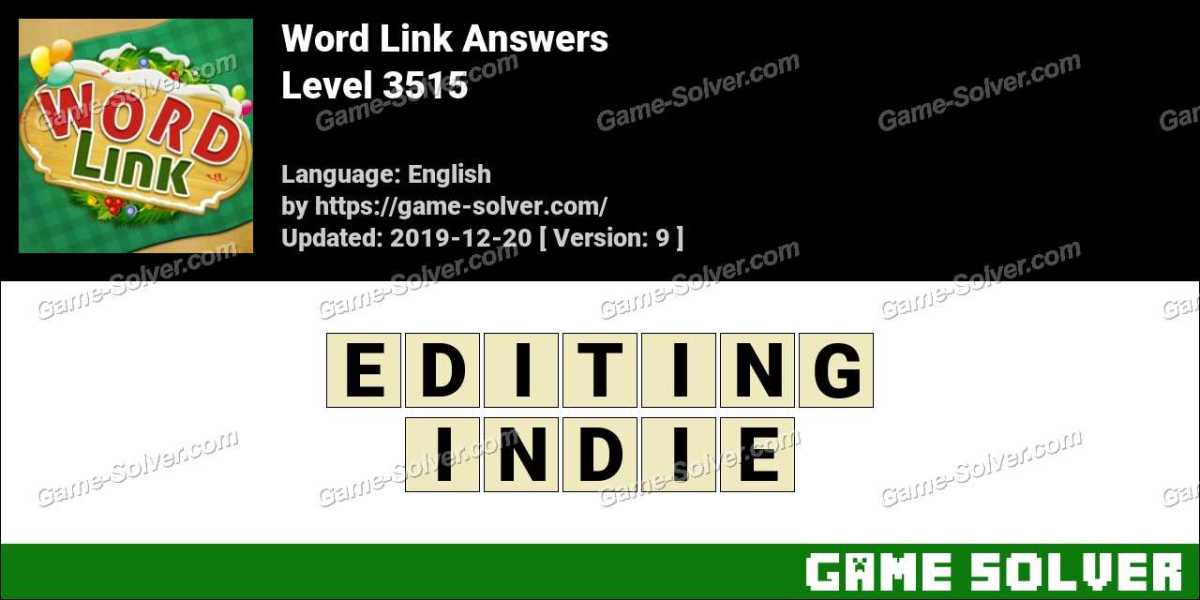 Word Link Level 3515 Answers