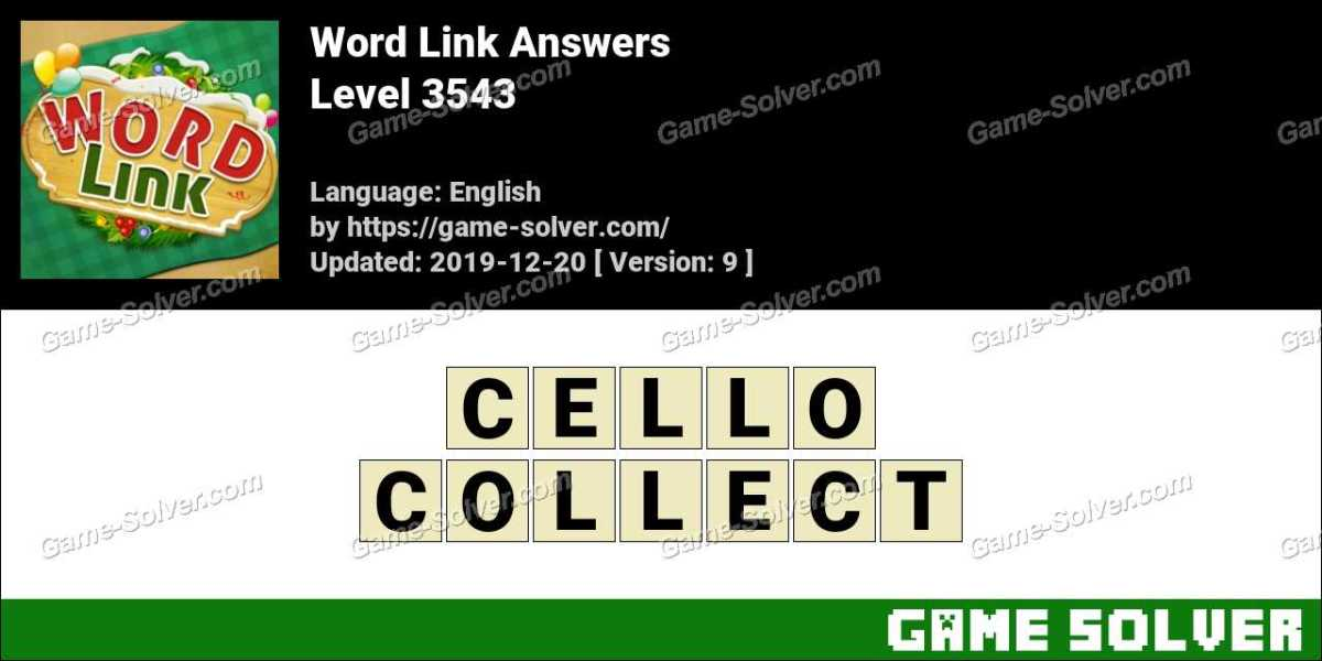Word Link Level 3543 Answers