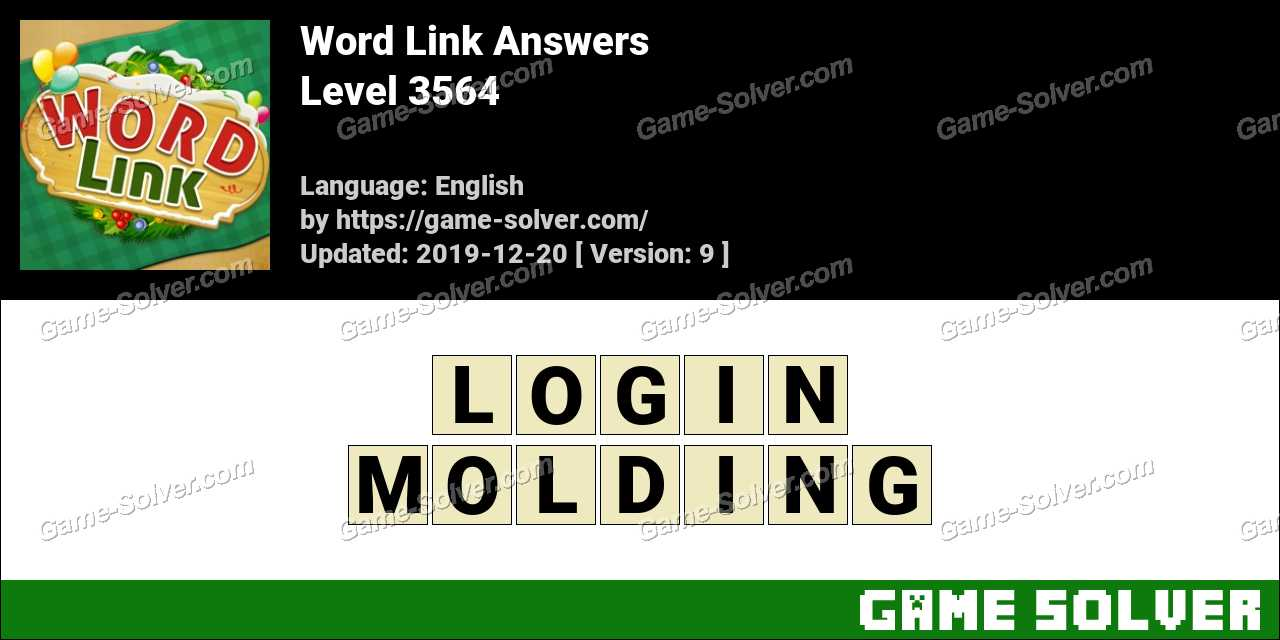 Word Link Level 3564 Answers