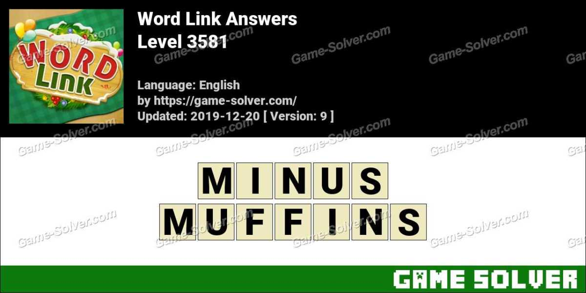 Word Link Level 3581 Answers