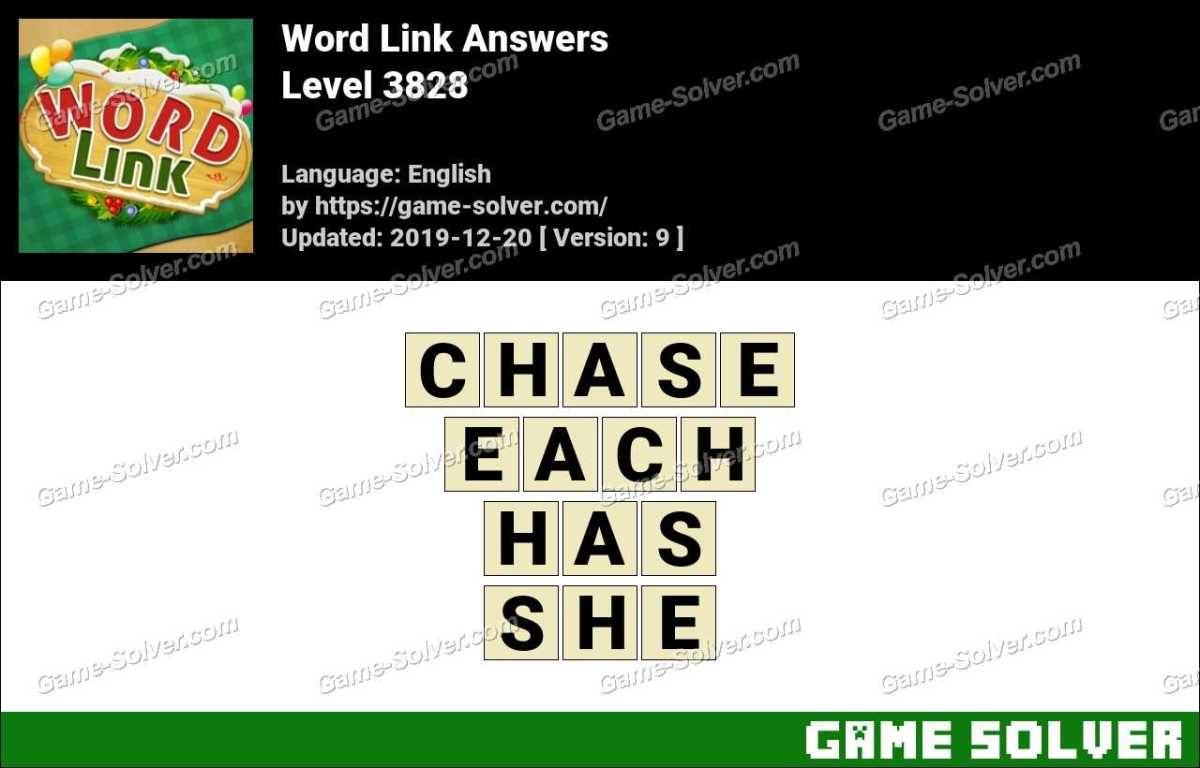 Word Link Level 3828 Answers