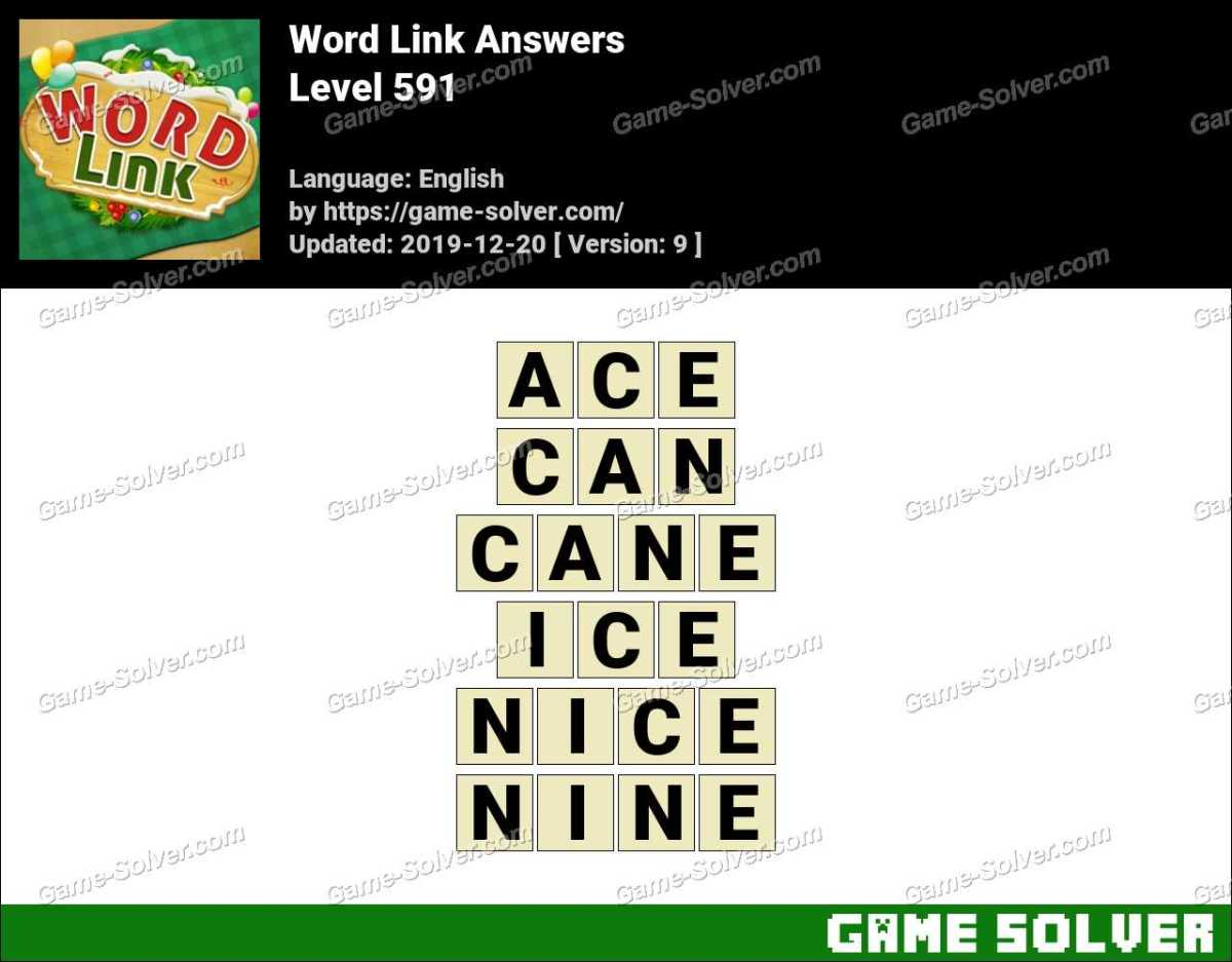 Word Link Level 591 Answers