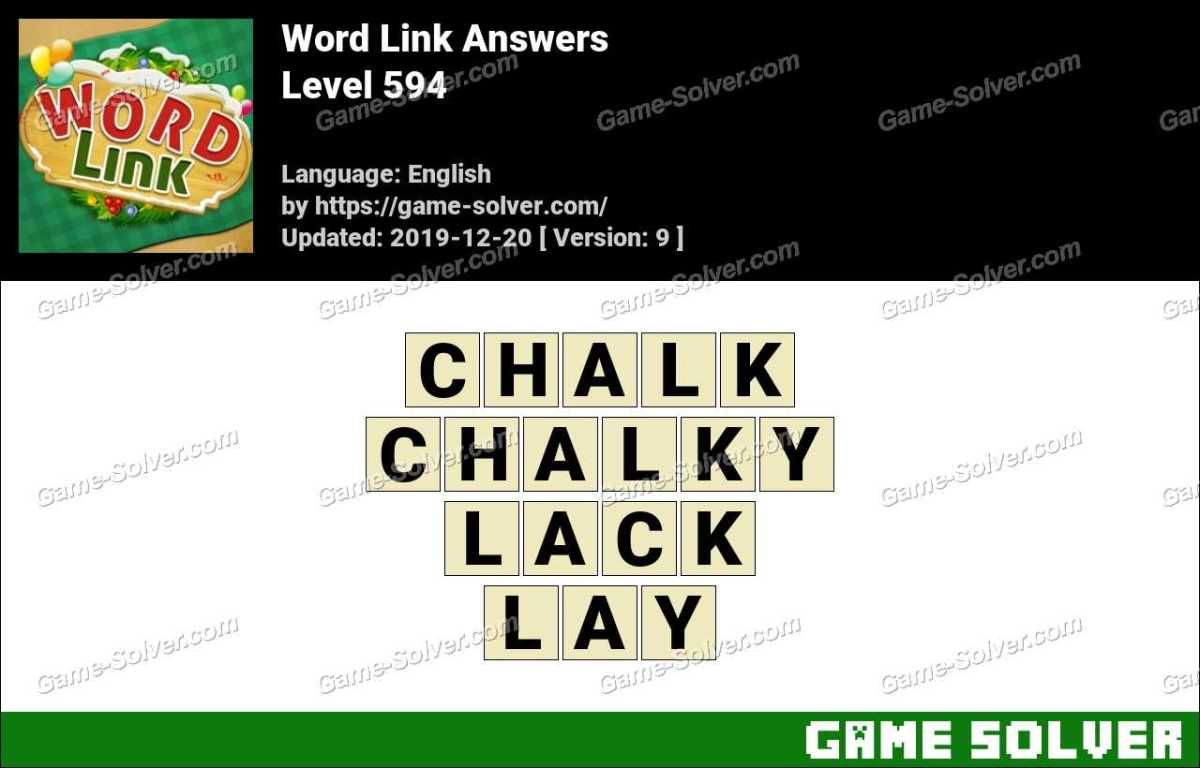 Word Link Level 594 Answers