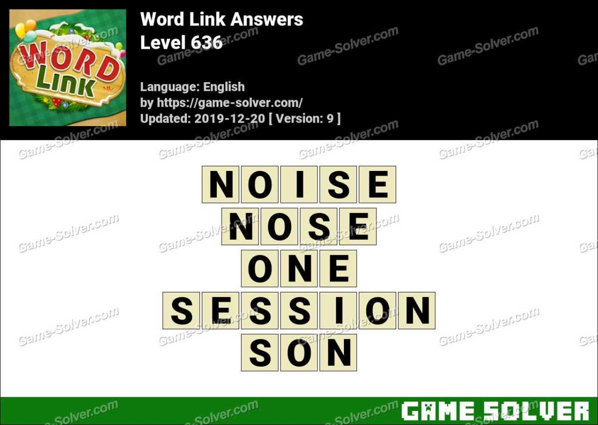Word Link Level 636 Answers