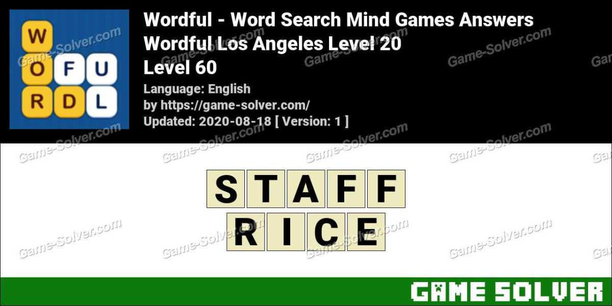 Wordful Los Angeles Level 20 Answers