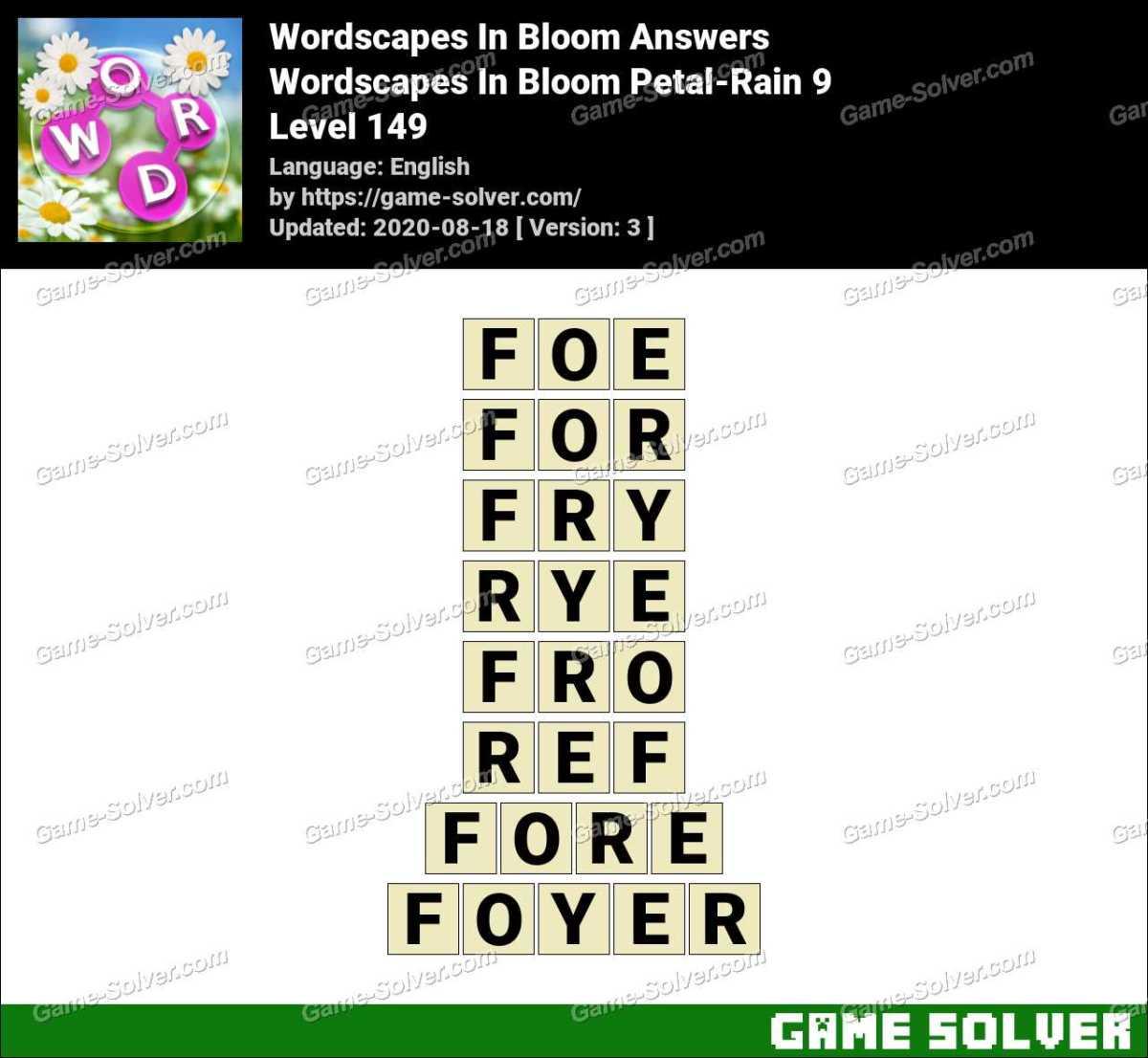 Download Wordscapes 149 Images