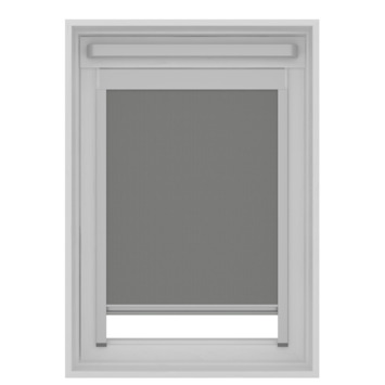 store enrouleur pour velux skylight new generation occultant gamma 7004 gris mk04 78x98 cm