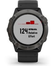 fēnix 6X Pro & Sapphire med Connect IQ-skjermbilde