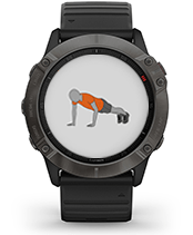 fēnix 6X Pro & Sapphire with animated workouts screen