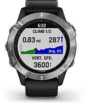 fēnix 6 con la pantalla de ClimbPro