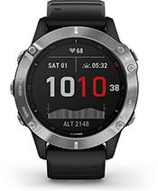 fēnix 6 con la pantalla del modo de bajo consumo
