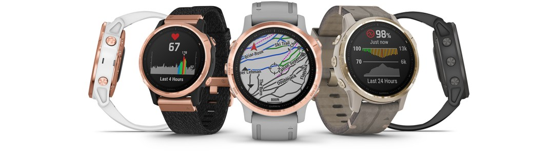 Collection of 5 fēnix watches