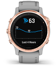 fēnix 6S Pro & Sapphire with body battery energy monitor screen