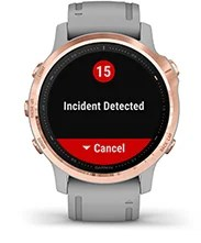 fēnix 6S Pro & Sapphire with safety and tracking features screen