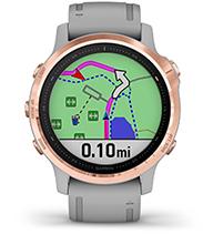 fēnix 6S Pro & Sapphire with navigation screen